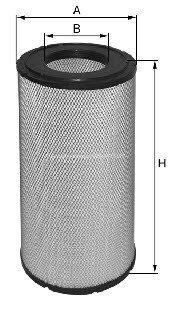 mitsubishi fd30nt фильтр воздушный